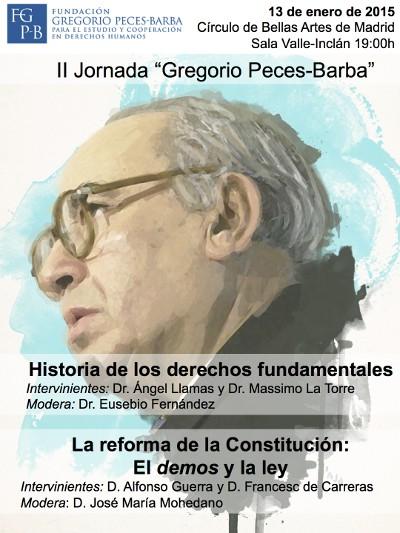 II jornada Gregorio Peces-Barba