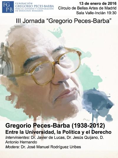 III jornada Gregorio Peces-Barba