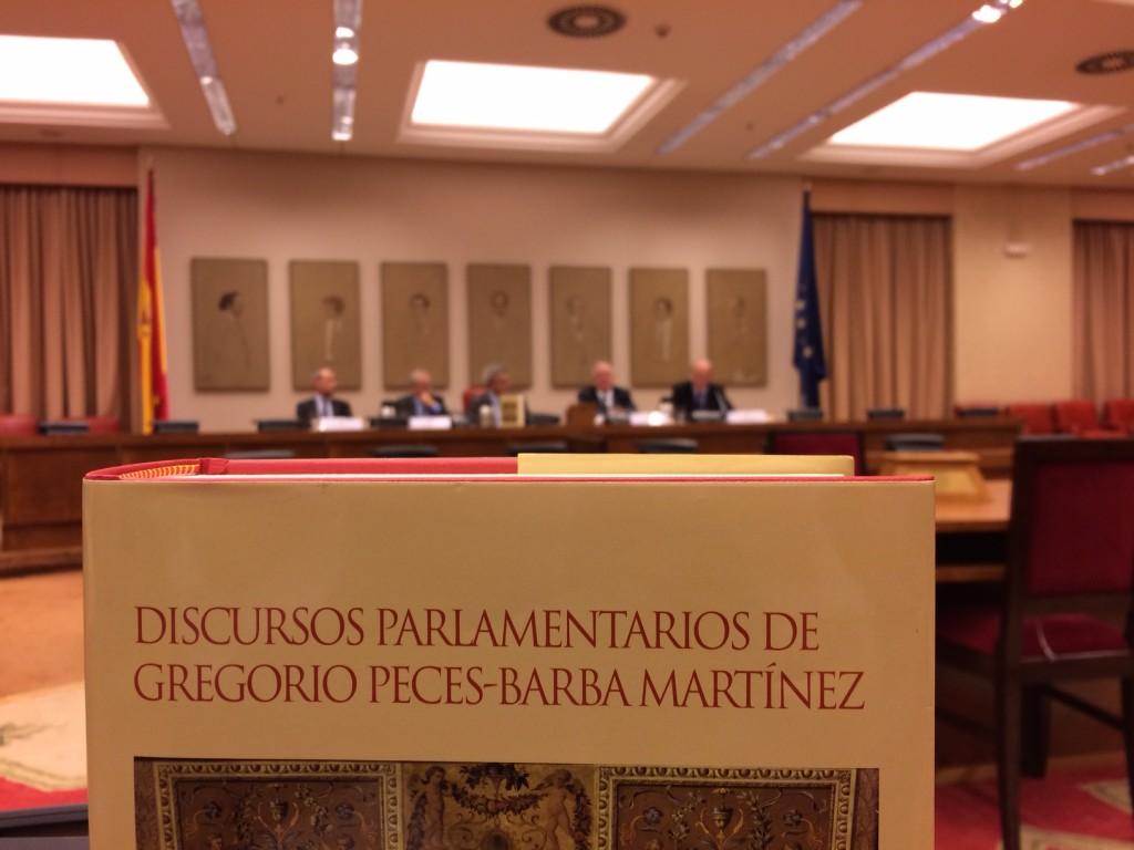 discursos parlamentarios de gregorio Peces-Barba