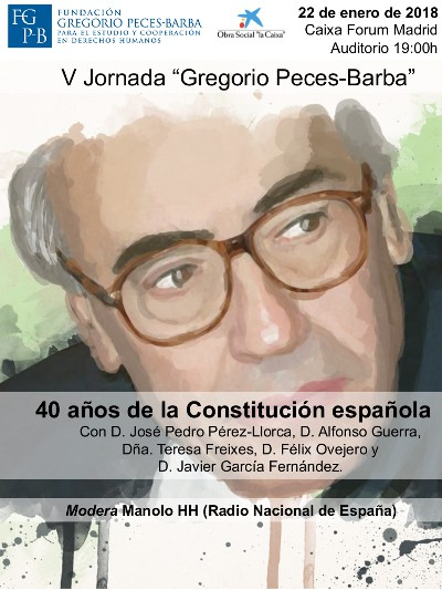 V Jornada Gregorio Peces-Barba
