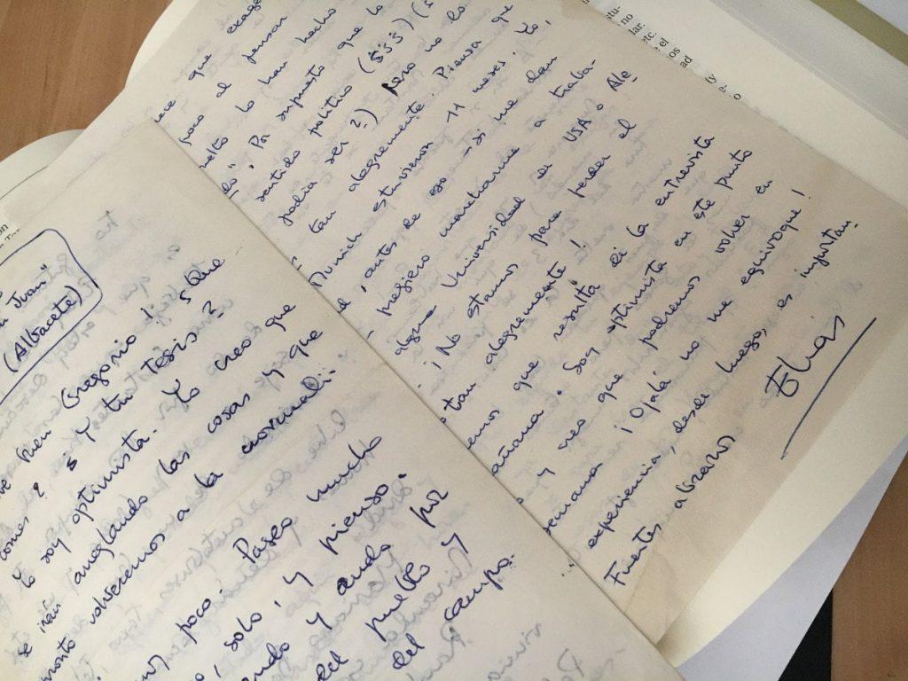 Carta Elías Díaz derechos fundamentales confinamiento